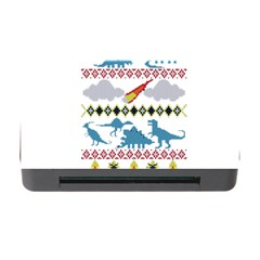 My Grandma Likes Dinosaurs Ugly Holiday Christmas Memory Card Reader with CF