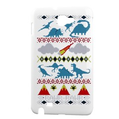 My Grandma Likes Dinosaurs Ugly Holiday Christmas Samsung Galaxy Note 1 Hardshell Case
