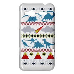 My Grandma Likes Dinosaurs Ugly Holiday Christmas HTC Radar Hardshell Case