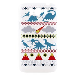 My Grandma Likes Dinosaurs Ugly Holiday Christmas HTC Sensation XL Hardshell Case