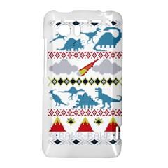 My Grandma Likes Dinosaurs Ugly Holiday Christmas HTC Vivid / Raider 4G Hardshell Case