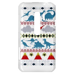 My Grandma Likes Dinosaurs Ugly Holiday Christmas HTC Evo 3D Hardshell Case
