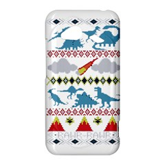 My Grandma Likes Dinosaurs Ugly Holiday Christmas HTC Droid Incredible 4G LTE Hardshell Case
