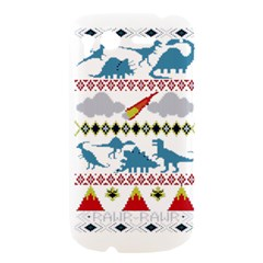 My Grandma Likes Dinosaurs Ugly Holiday Christmas HTC Desire S Hardshell Case