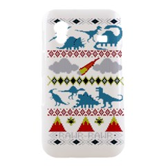 My Grandma Likes Dinosaurs Ugly Holiday Christmas Samsung Galaxy Ace S5830 Hardshell Case