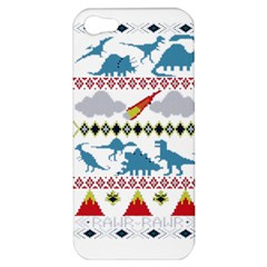 My Grandma Likes Dinosaurs Ugly Holiday Christmas Apple iPhone 5 Hardshell Case