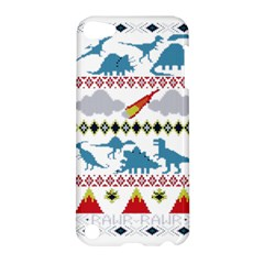 My Grandma Likes Dinosaurs Ugly Holiday Christmas Apple iPod Touch 5 Hardshell Case