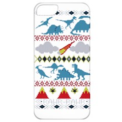 My Grandma Likes Dinosaurs Ugly Holiday Christmas Apple iPhone 5 Classic Hardshell Case