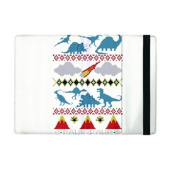 My Grandma Likes Dinosaurs Ugly Holiday Christmas Apple iPad Mini Flip Case
