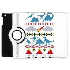 My Grandma Likes Dinosaurs Ugly Holiday Christmas Apple iPad Mini Flip 360 Case