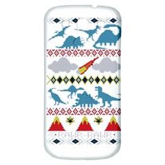 My Grandma Likes Dinosaurs Ugly Holiday Christmas Samsung Galaxy S3 S III Classic Hardshell Back Case