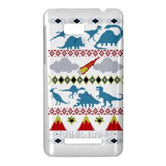 My Grandma Likes Dinosaurs Ugly Holiday Christmas HTC One SU T528W Hardshell Case