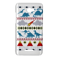 My Grandma Likes Dinosaurs Ugly Holiday Christmas HTC Butterfly X920E Hardshell Case