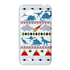 My Grandma Likes Dinosaurs Ugly Holiday Christmas HTC Desire VC (T328D) Hardshell Case