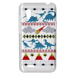 My Grandma Likes Dinosaurs Ugly Holiday Christmas HTC Desire VT (T328T) Hardshell Case