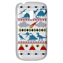 My Grandma Likes Dinosaurs Ugly Holiday Christmas Samsung Galaxy S3 MINI I8190 Hardshell Case
