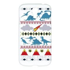 My Grandma Likes Dinosaurs Ugly Holiday Christmas Samsung Galaxy S4 I9500/I9505 Hardshell Case