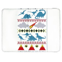 My Grandma Likes Dinosaurs Ugly Holiday Christmas Samsung Galaxy Tab 7  P1000 Flip Case