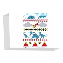 My Grandma Likes Dinosaurs Ugly Holiday Christmas 4 x 6  Acrylic Photo Blocks