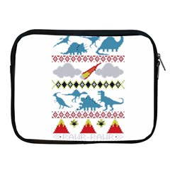 My Grandma Likes Dinosaurs Ugly Holiday Christmas Apple iPad 2/3/4 Zipper Cases