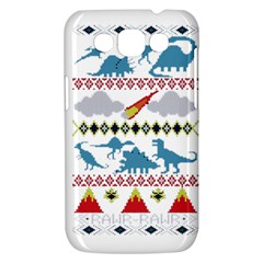 My Grandma Likes Dinosaurs Ugly Holiday Christmas Samsung Galaxy Win I8550 Hardshell Case