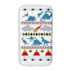 My Grandma Likes Dinosaurs Ugly Holiday Christmas Samsung Galaxy Grand GT-I9128 Hardshell Case