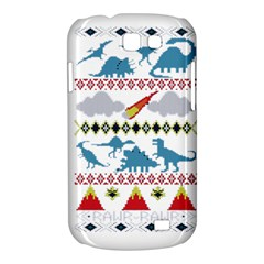 My Grandma Likes Dinosaurs Ugly Holiday Christmas Samsung Galaxy Express I8730 Hardshell Case