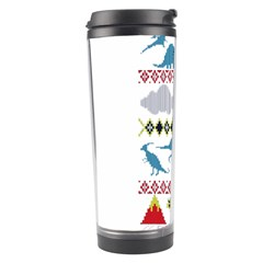 My Grandma Likes Dinosaurs Ugly Holiday Christmas Travel Tumbler