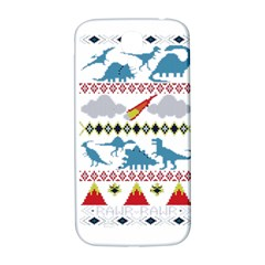 My Grandma Likes Dinosaurs Ugly Holiday Christmas Samsung Galaxy S4 I9500/I9505  Hardshell Back Case
