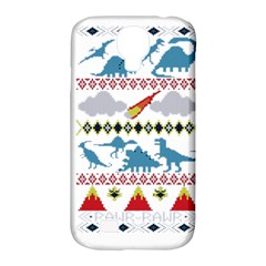 My Grandma Likes Dinosaurs Ugly Holiday Christmas Samsung Galaxy S4 Classic Hardshell Case (PC+Silicone)