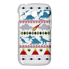 My Grandma Likes Dinosaurs Ugly Holiday Christmas Samsung Galaxy Ace 3 S7272 Hardshell Case