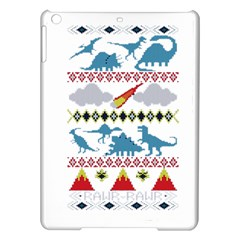 My Grandma Likes Dinosaurs Ugly Holiday Christmas iPad Air Hardshell Cases