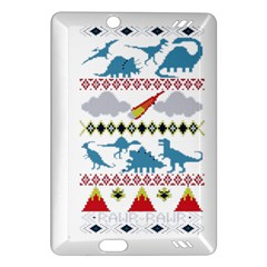 My Grandma Likes Dinosaurs Ugly Holiday Christmas Amazon Kindle Fire HD (2013) Hardshell Case