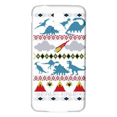 My Grandma Likes Dinosaurs Ugly Holiday Christmas Samsung Galaxy S5 Back Case (White)