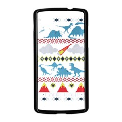 My Grandma Likes Dinosaurs Ugly Holiday Christmas Nexus 5 Case (Black)