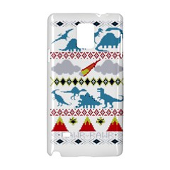 My Grandma Likes Dinosaurs Ugly Holiday Christmas Samsung Galaxy Note 4 Hardshell Case