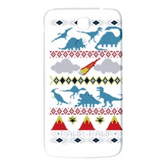 My Grandma Likes Dinosaurs Ugly Holiday Christmas Samsung Galaxy Mega I9200 Hardshell Back Case