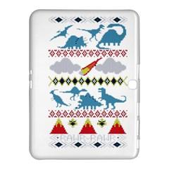 My Grandma Likes Dinosaurs Ugly Holiday Christmas Samsung Galaxy Tab 4 (10.1 ) Hardshell Case
