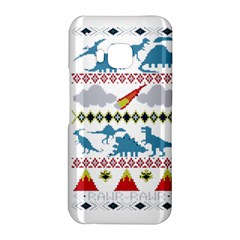 My Grandma Likes Dinosaurs Ugly Holiday Christmas HTC One M9 Hardshell Case