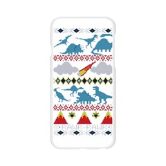 My Grandma Likes Dinosaurs Ugly Holiday Christmas Apple Seamless iPhone 6/6S Case (Transparent)