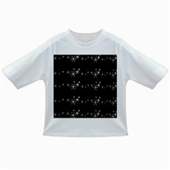 Black elegant  Xmas design Infant/Toddler T-Shirts