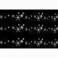 Black elegant  Xmas design Collage Prints