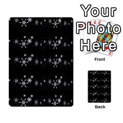 Black elegant  Xmas design Multi-purpose Cards (Rectangle)