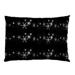 Black elegant  Xmas design Pillow Case