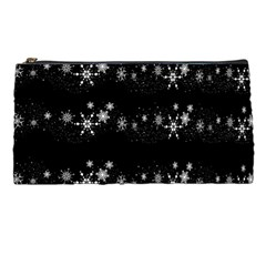 Black elegant  Xmas design Pencil Cases