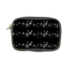 Black elegant  Xmas design Coin Purse