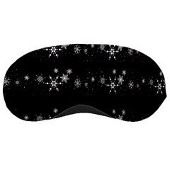Black elegant  Xmas design Sleeping Masks