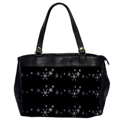 Black elegant  Xmas design Office Handbags