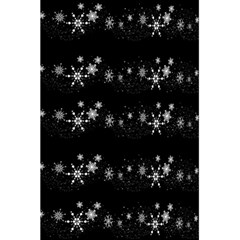 Black elegant  Xmas design 5.5  x 8.5  Notebooks