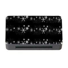 Black elegant  Xmas design Memory Card Reader with CF